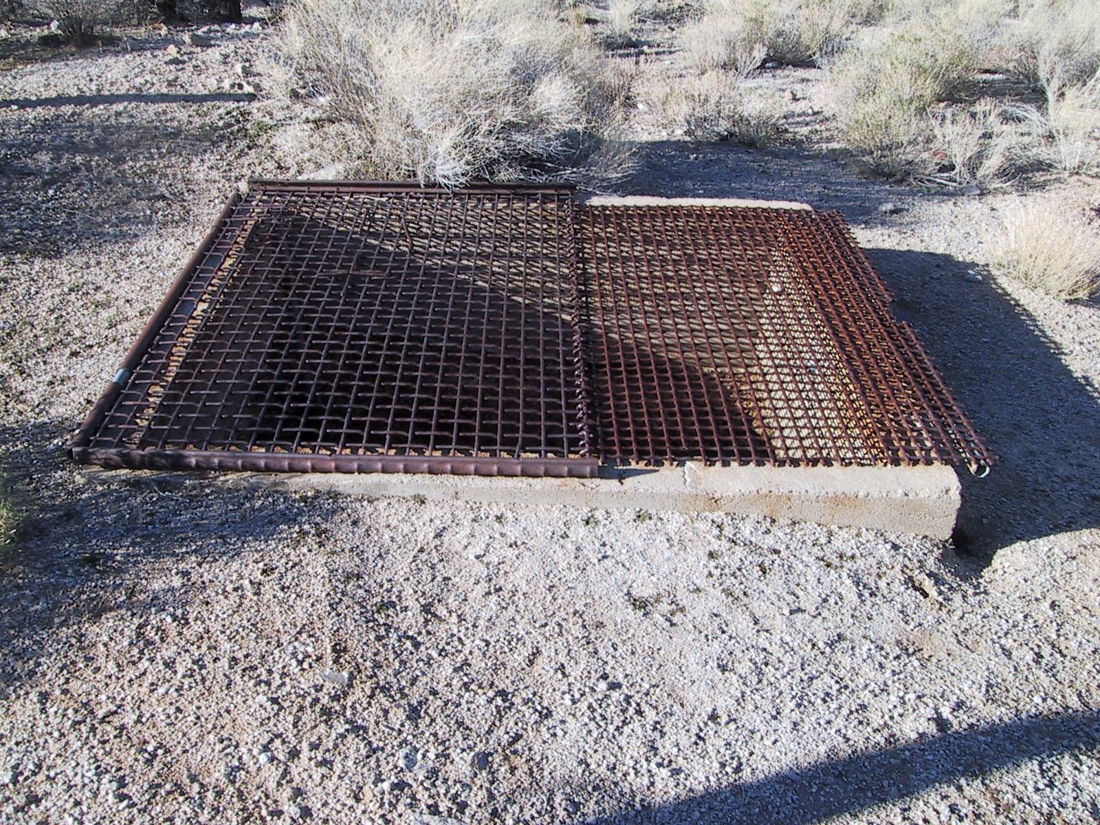 Air vent to underground mine