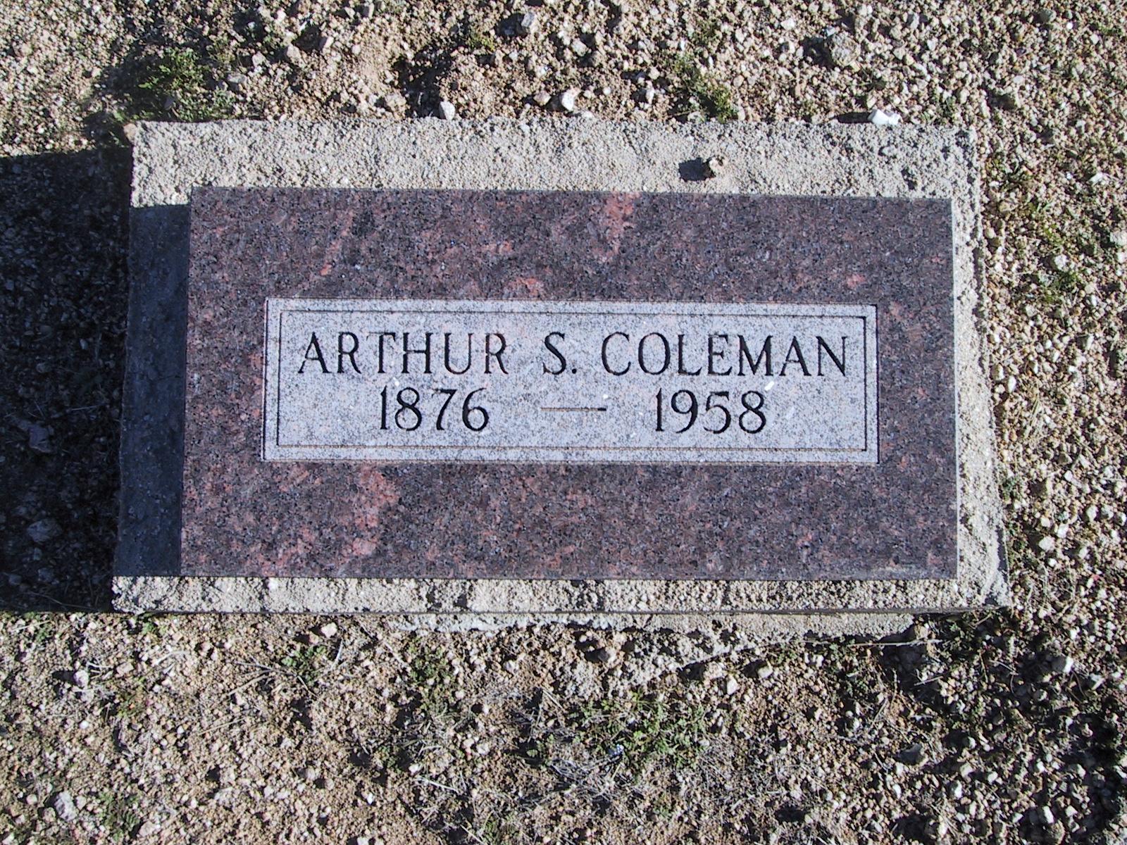 Arthur S. Coleman 1976-1958