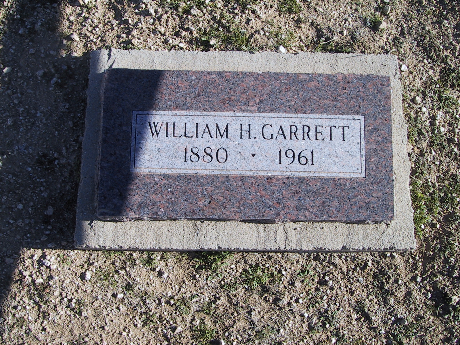 William H. Garrett 1880-1961