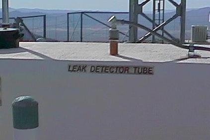 Leak detector tube!