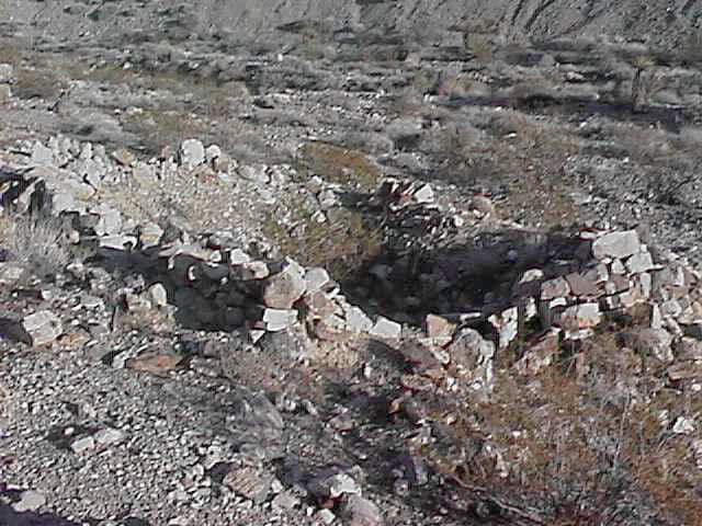 Foundation of a lost building