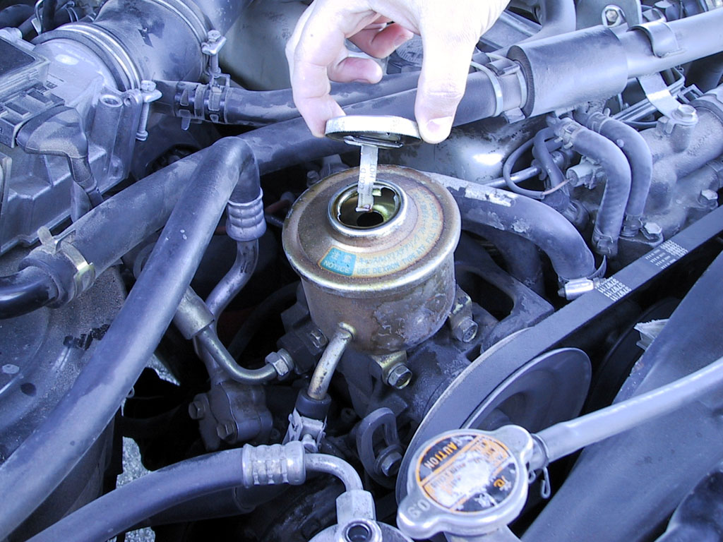 """""""Yup, the brake fluid looks just fine to me."""""""