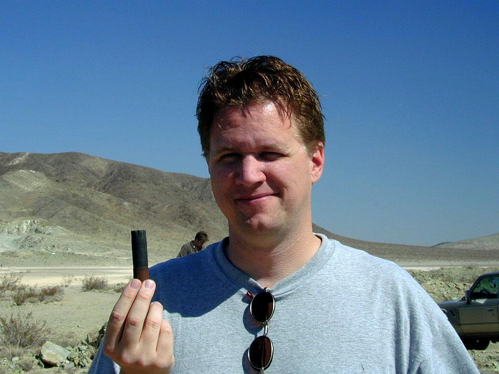 Matt find a shotgun shell