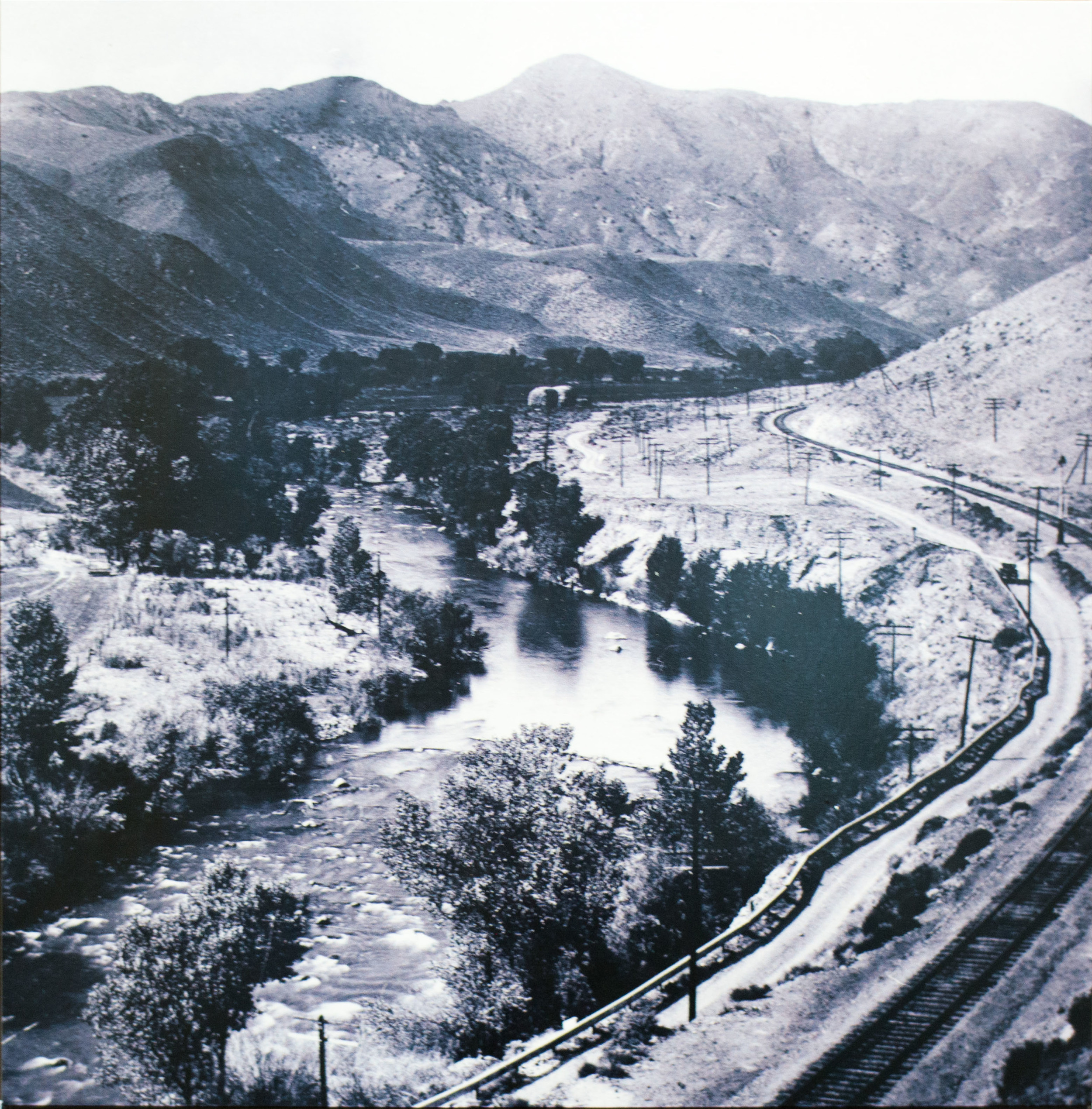Railroad along the Truckee River