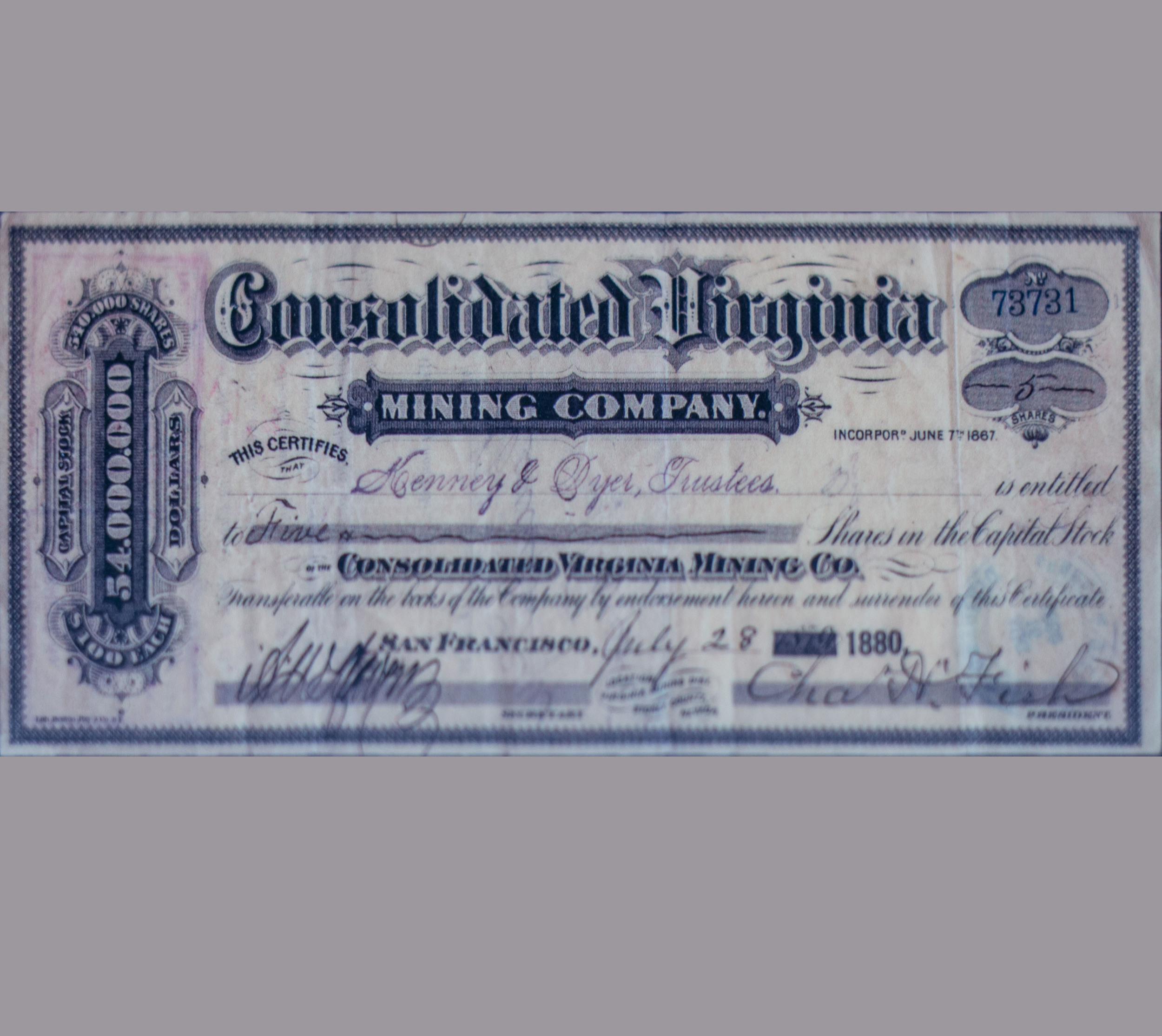 Consolidated Virginia Mining Company