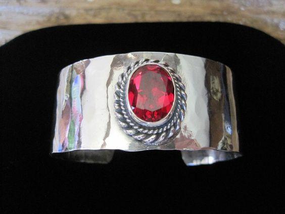 """Sterling Silver 1"""" Cuff Bracelet"""