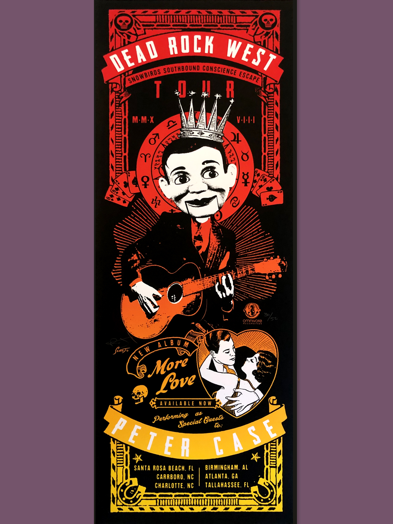 Copy of Performing with Peter Case (OFFICIAL TOUR POSTER)