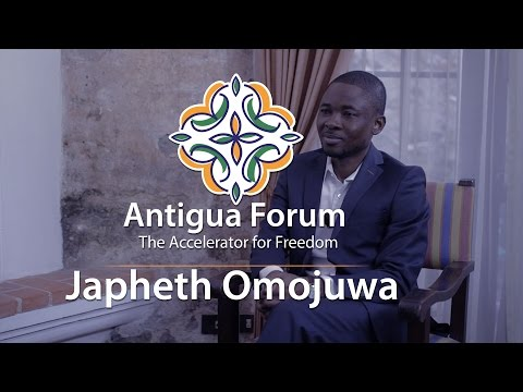 A Leading Voice for Liberty in Africa  Japheth Omojuwa, Nigeria  Political commentator and editor of Atlas Network's AfricanLiberty.org, one of Africa's largest websites on economics and governance; World Economic Forum Global Shaper; featured on CNN, BBC, and Al Jazeera; named one of Africa's 50 Movers and Shakers by Credit Suisse