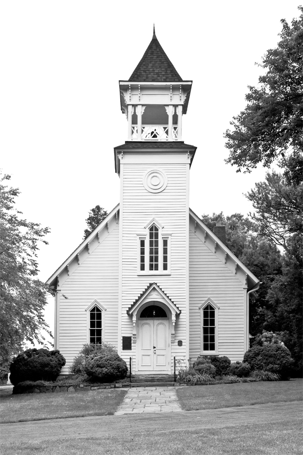 Harmon Church, June Afternoon