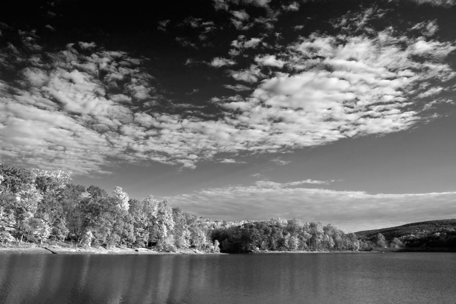 Hunting Creek Lake, Autumn Morning