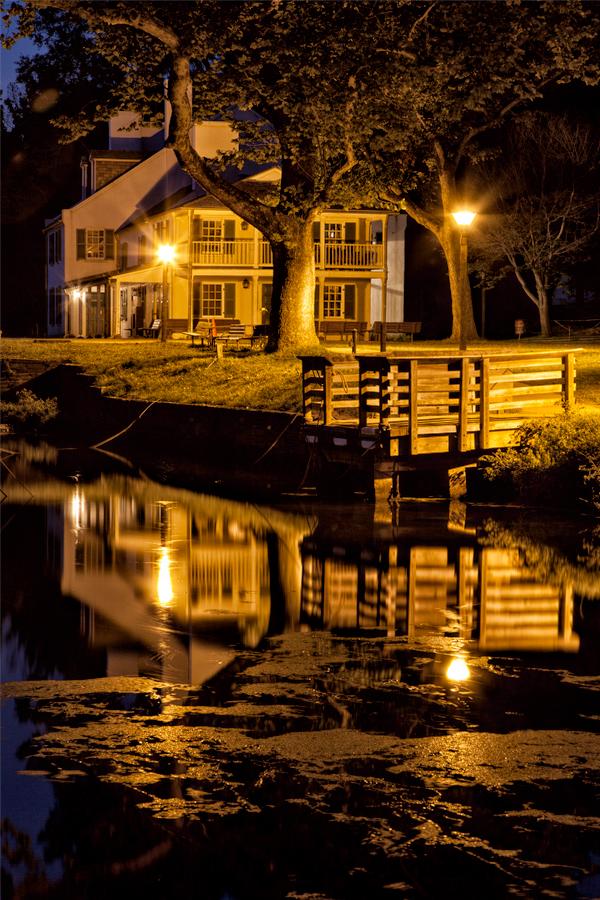 Great Falls Tavern, August Evening