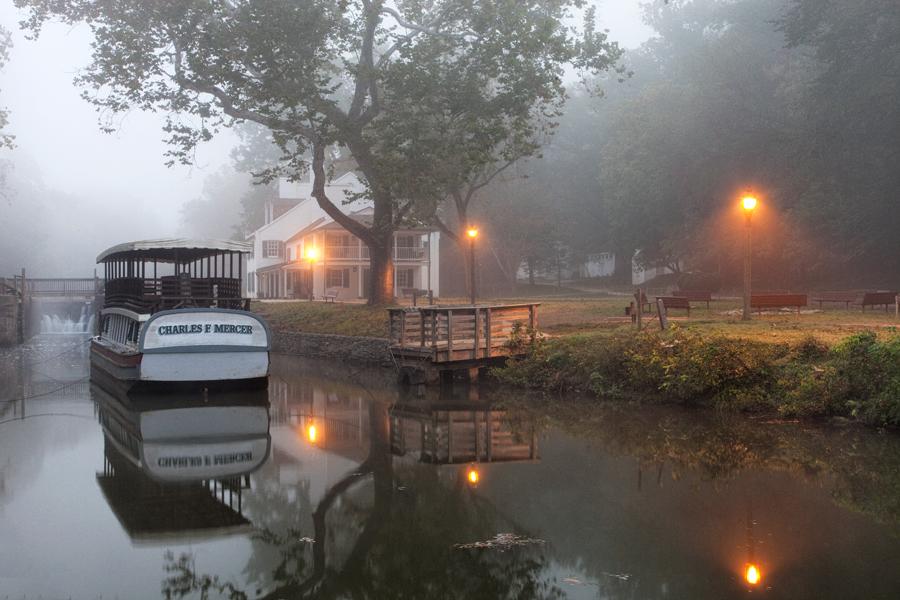 Great Falls Tavern, October Morning