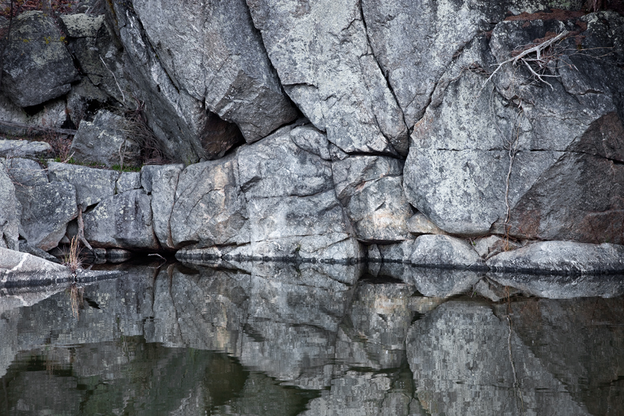 Widewater, Rocks and Reflections