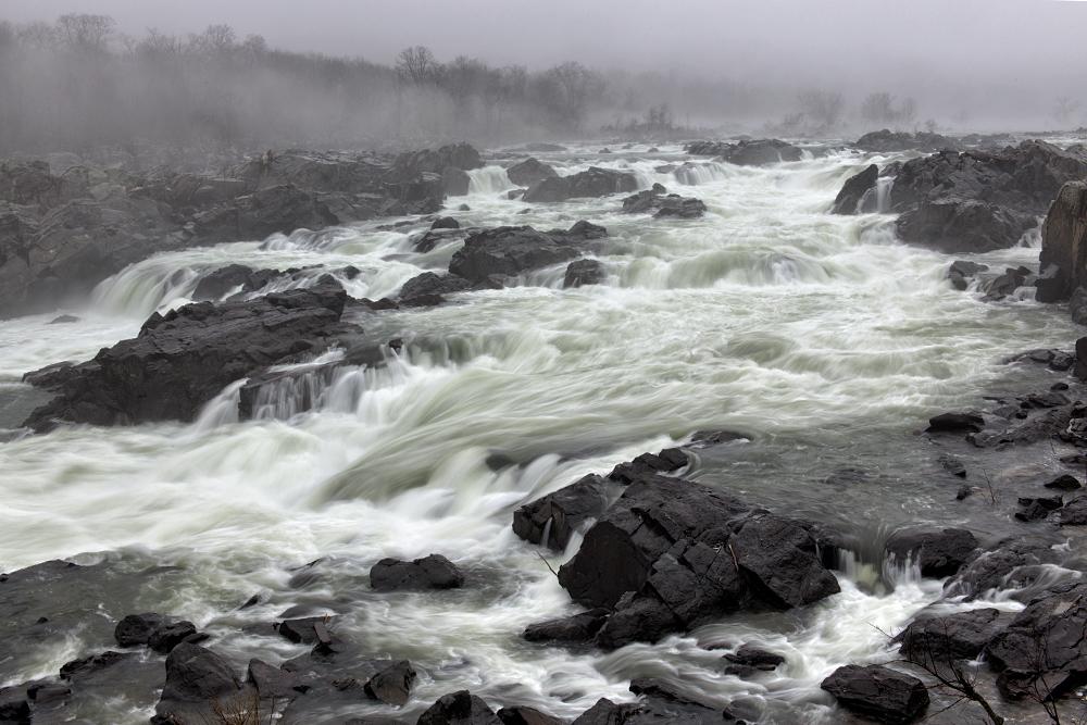 Great Falls, January Morning