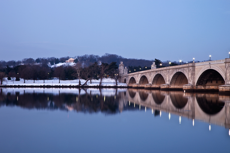 Memorial Bridge, December Morning