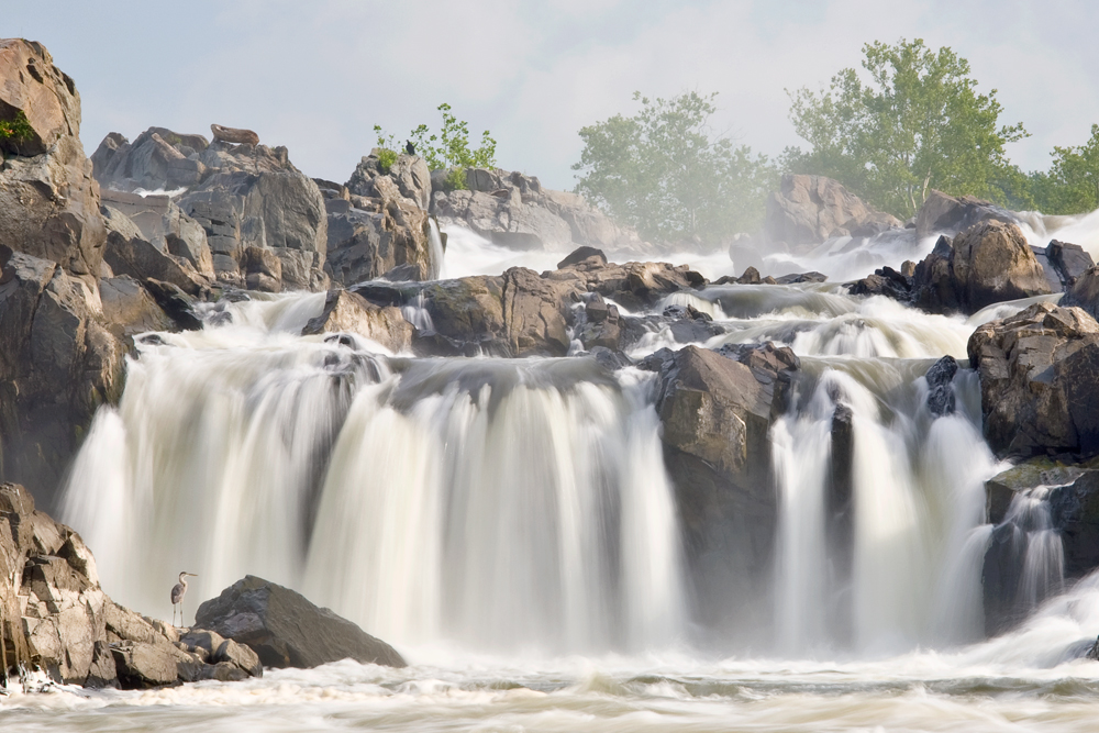 Great Falls From Fishermen's Eddy