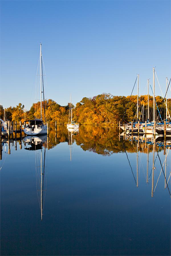 Galesville, MD, October Morning