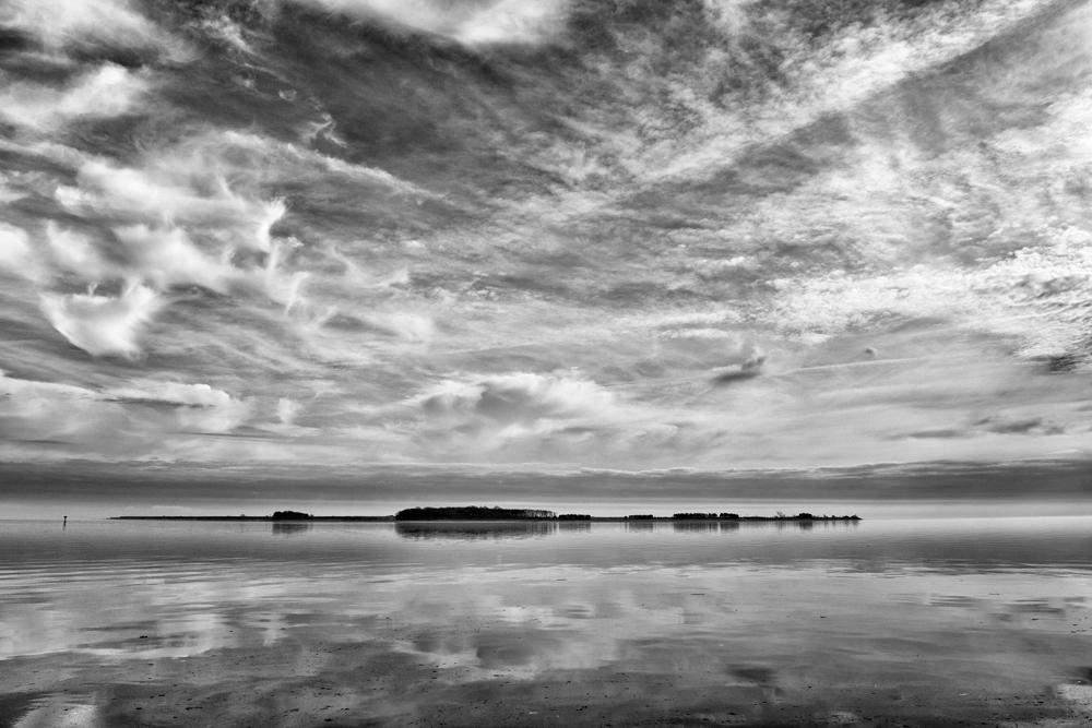 Hart-Miller Island, January Morning