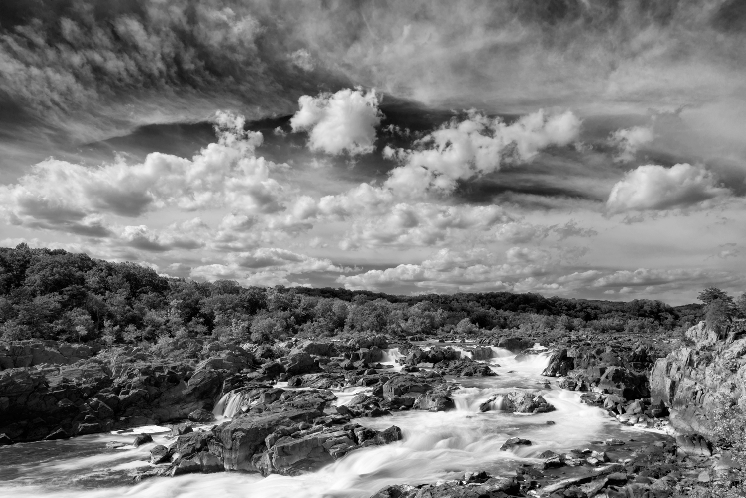 Great Falls, September Afternoon