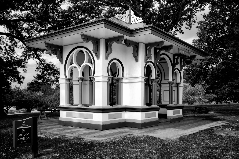 Latrobe Pavilion, July Morning