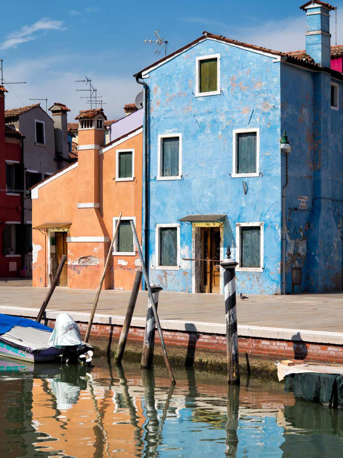 Borano, Italy, August Afternoon
