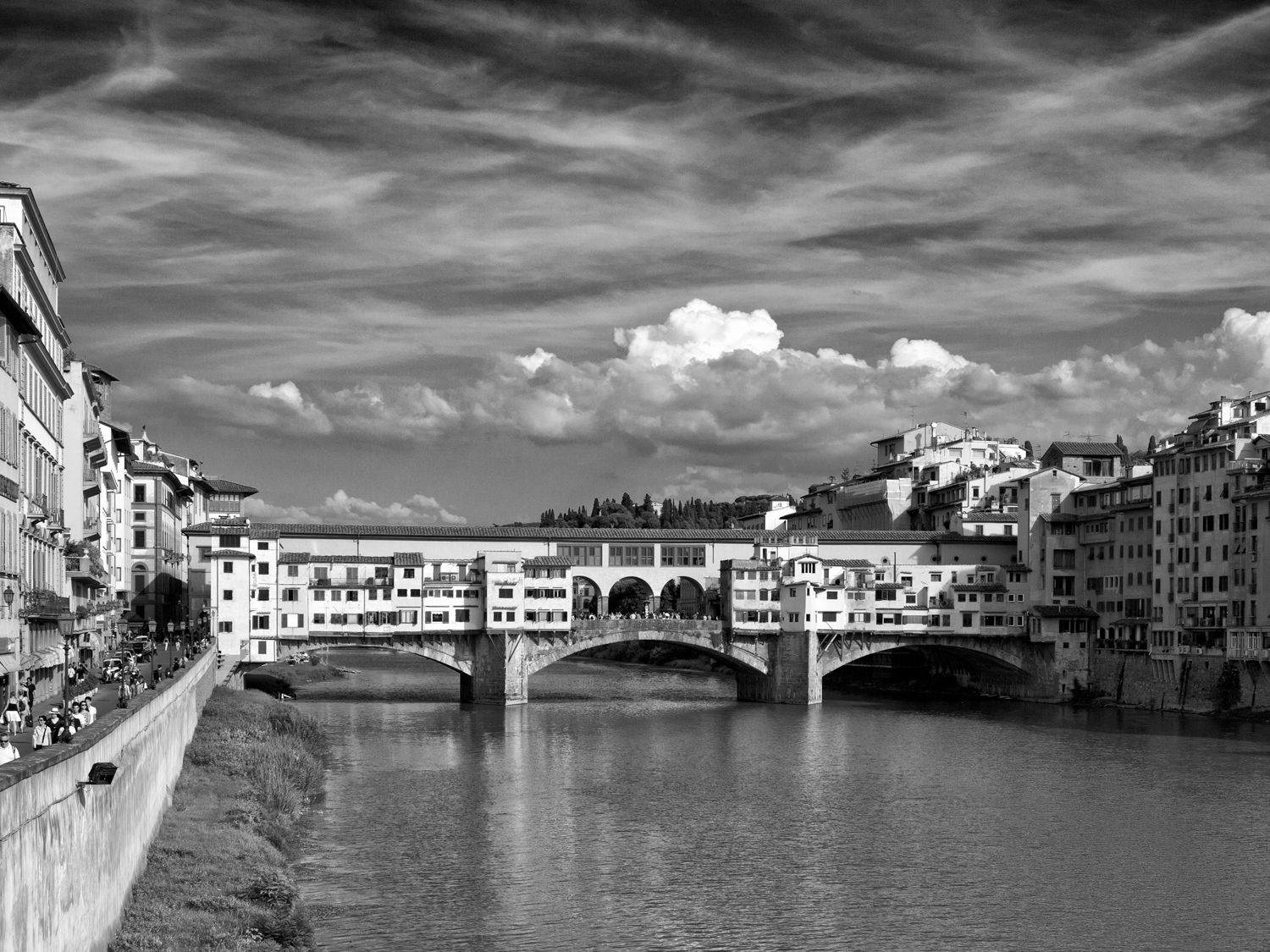 Florence, Italy, August Afternoon