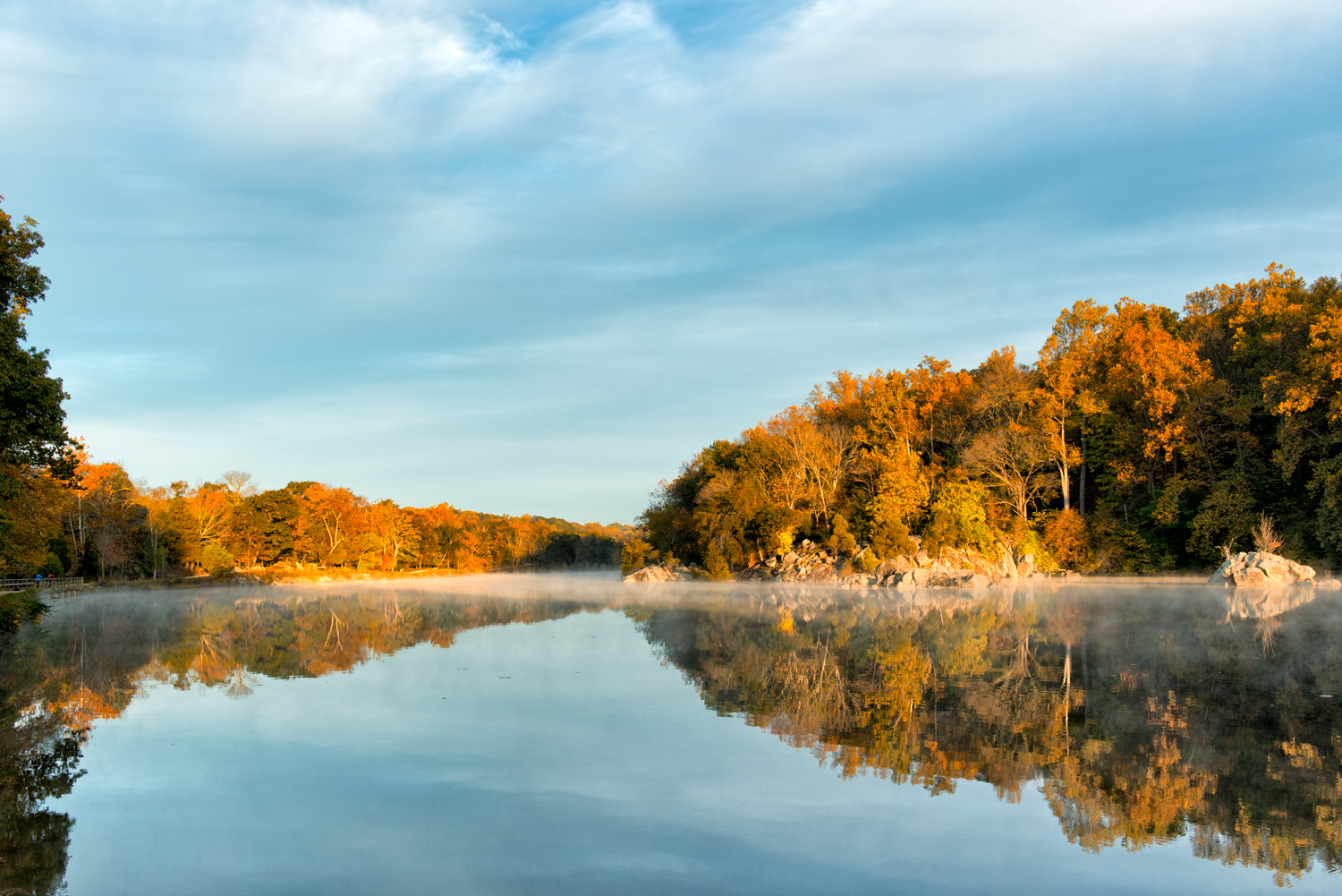 Widewater, October Morning
