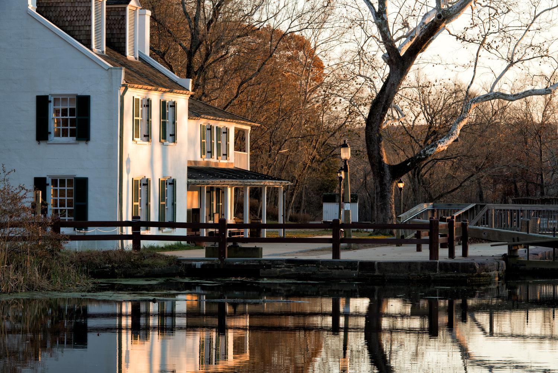 Great Falls Tavern, November Afternoon
