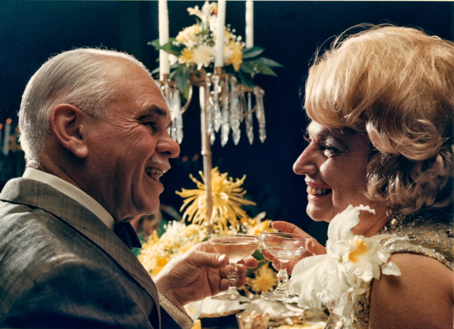 Kathryn and Harry at their 50th Anniversary, 1968