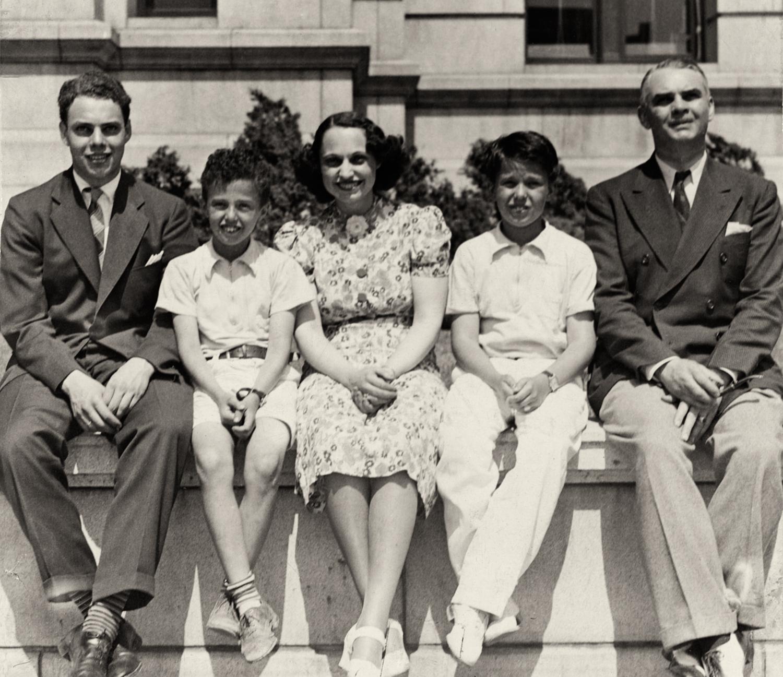 Doug, Richard, Kathryn, Buddy and Harry, 1938