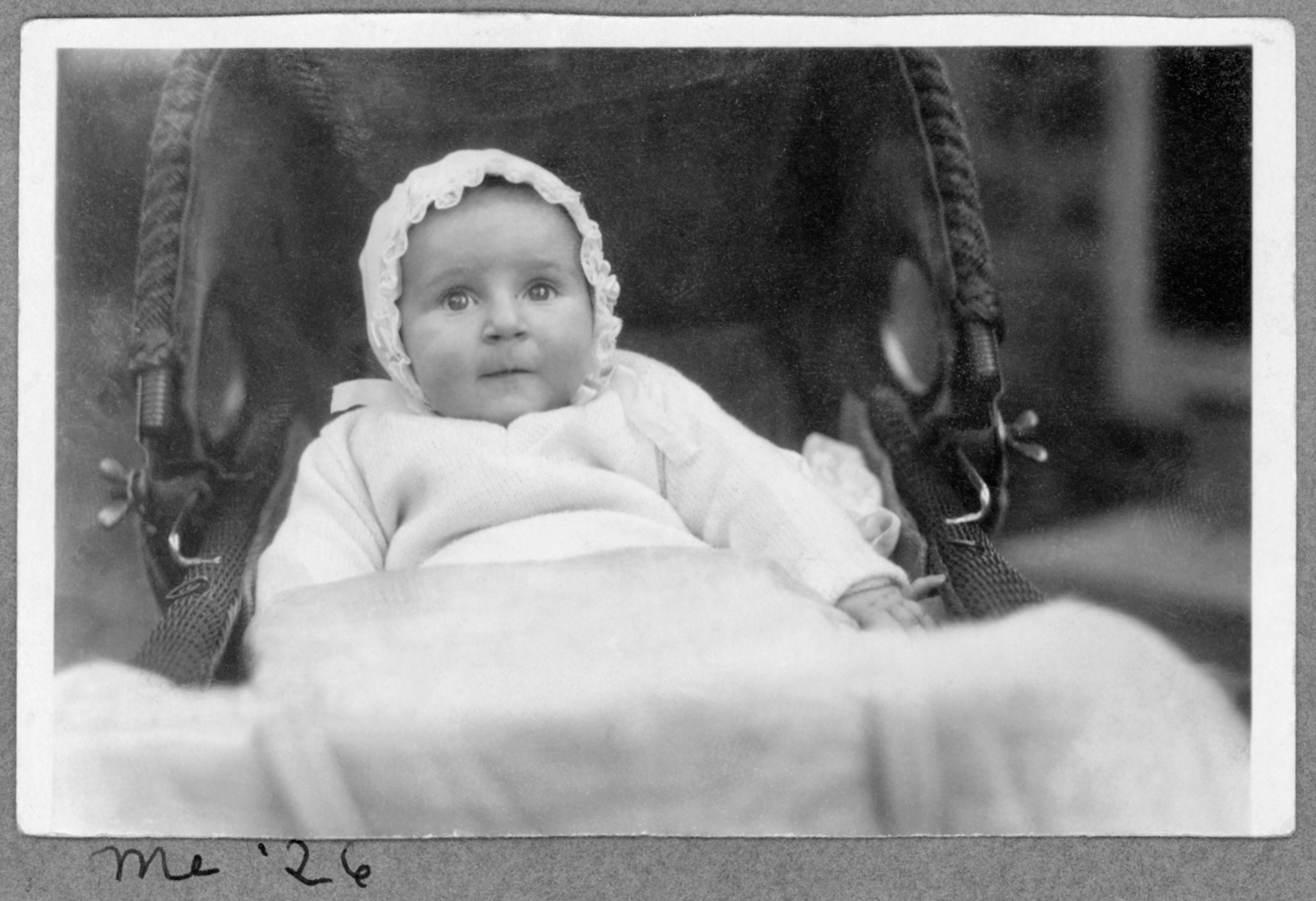 Anne as a Baby (from her photo album)