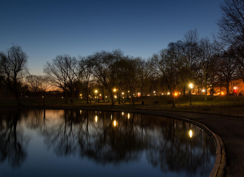 Constitution Gardens, April Evening