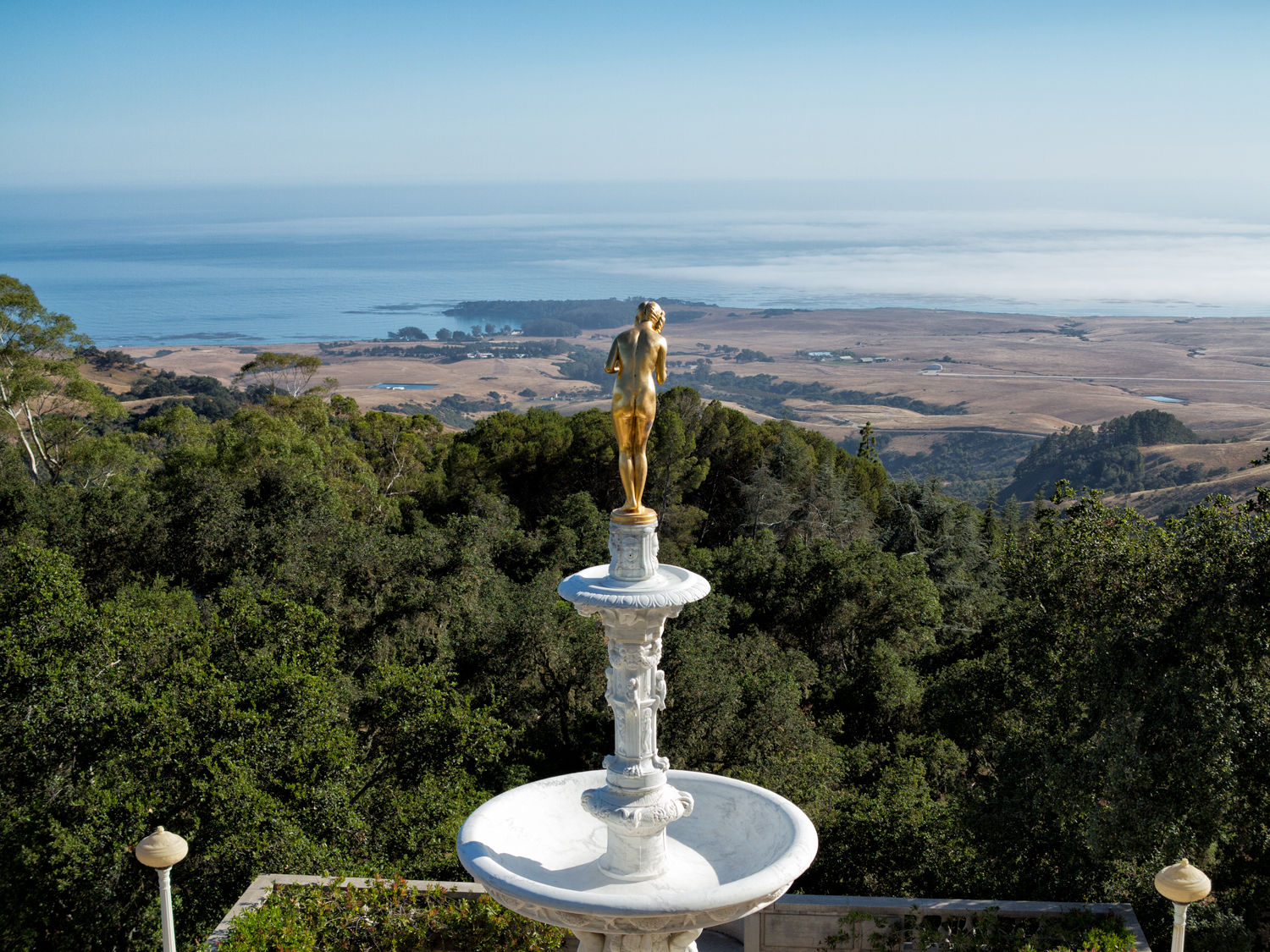 Hearst Castle, June Afternoon