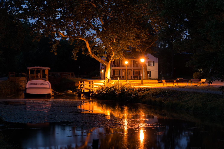 Great Falls Park, July Evening