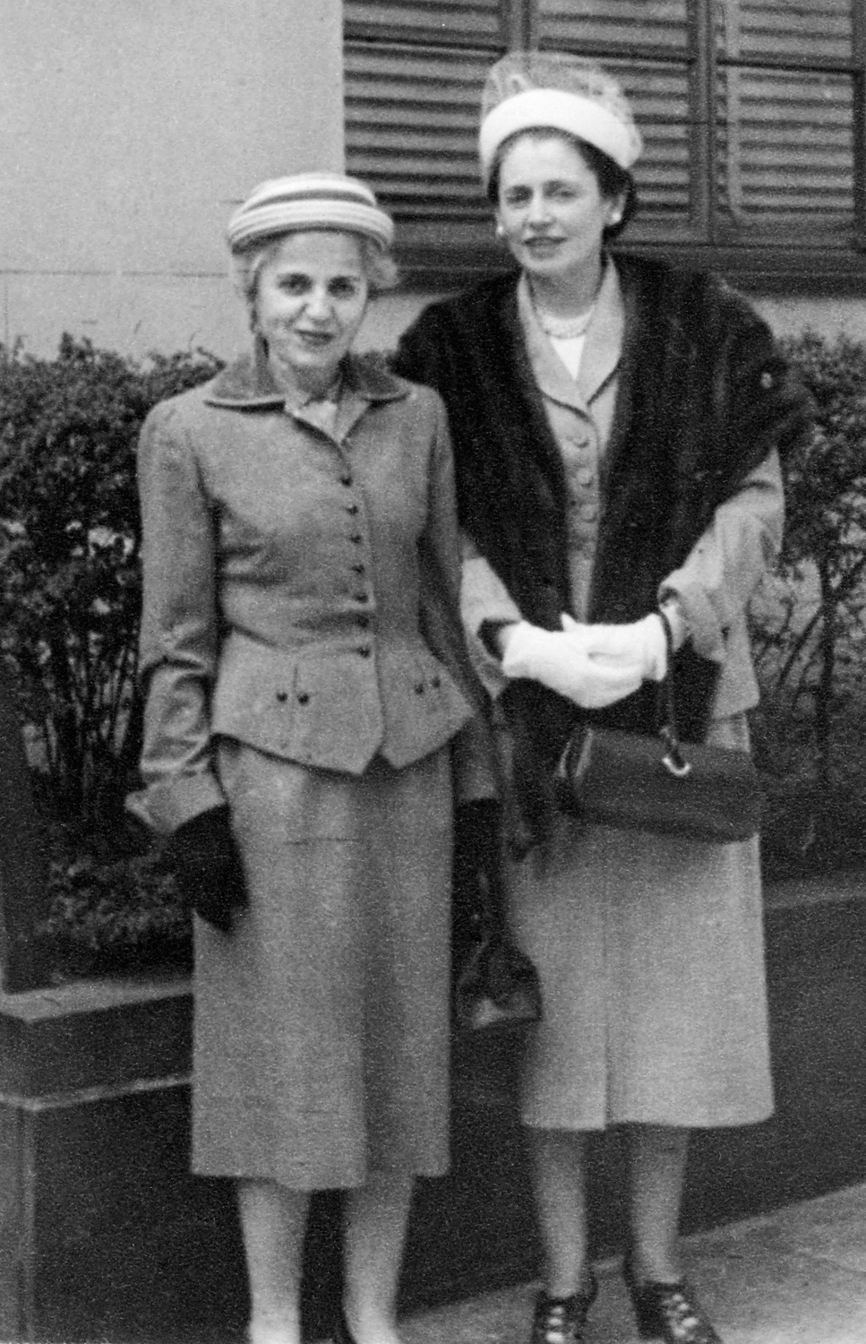 Esther and Sylvia