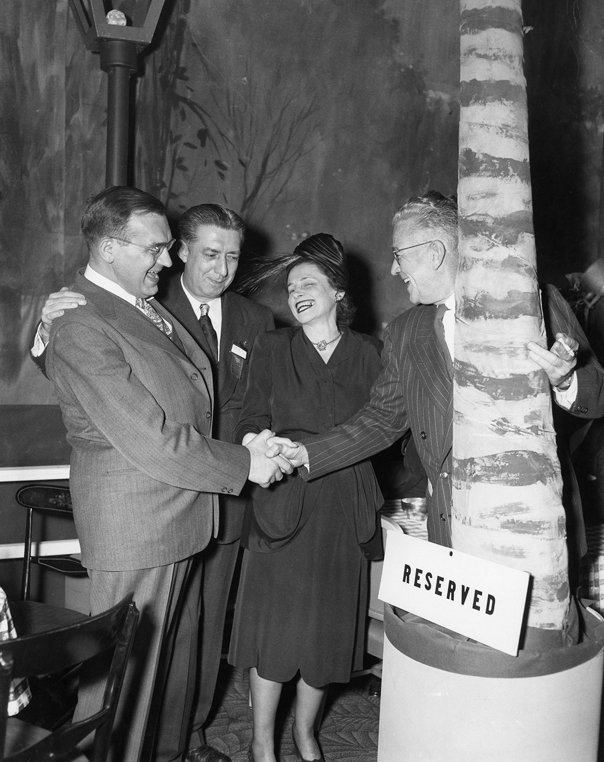 Sylvia at the 1947 Beer Distributor's convention