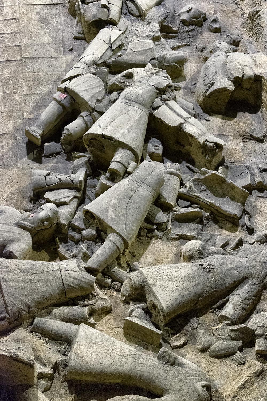 Terracotta Warriors as Found