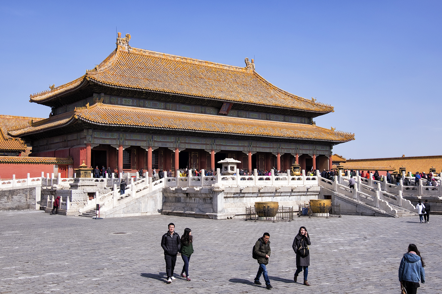 The Palace of Heavenly Purity, in the Forbidden City