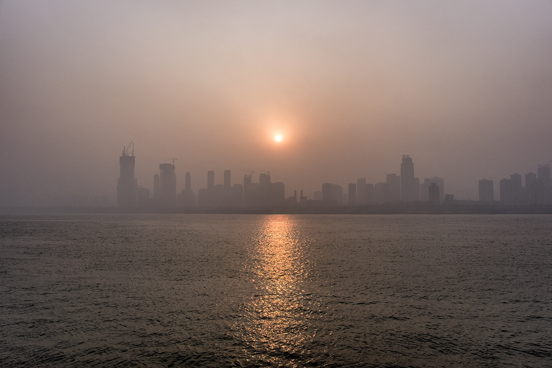 Yangtze River Sunrise, Wuhan, China