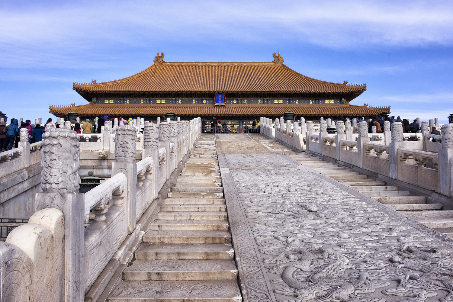 The Hall of Supreme Harmony, in the Forbidden City