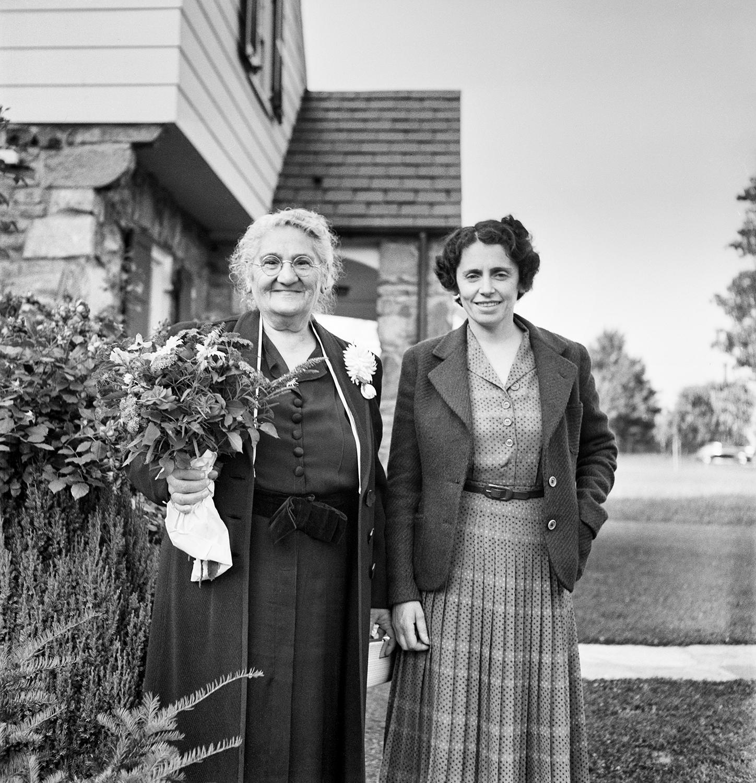 Dora and Sylvia Adalman