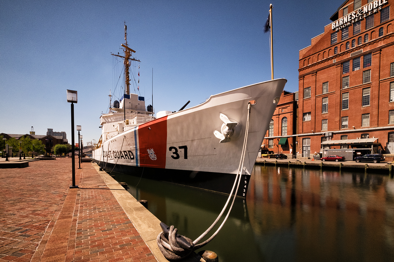 Baltimore Harbor, August Morning