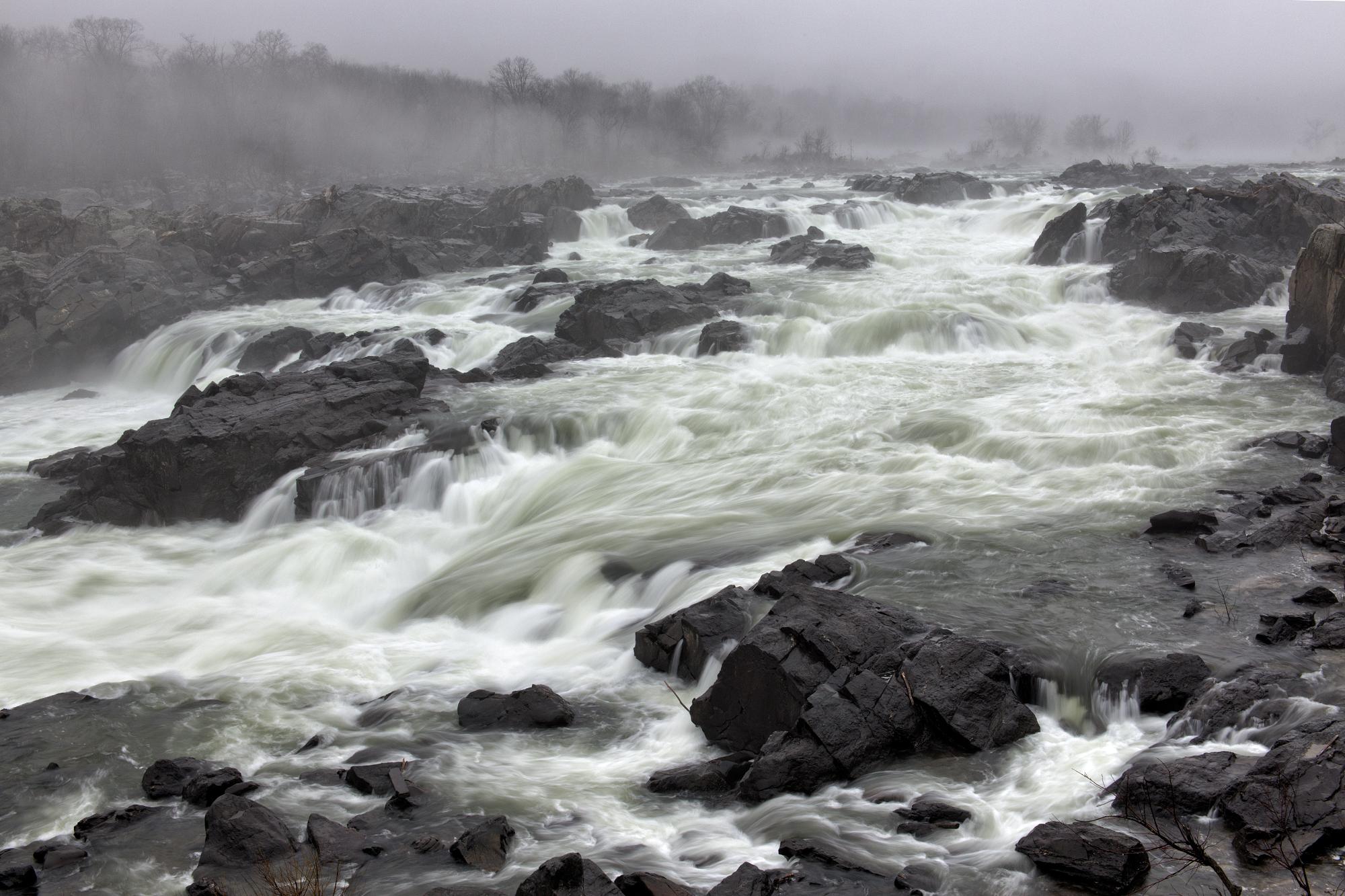 Great Falls, November Morning, Water Works 2016
