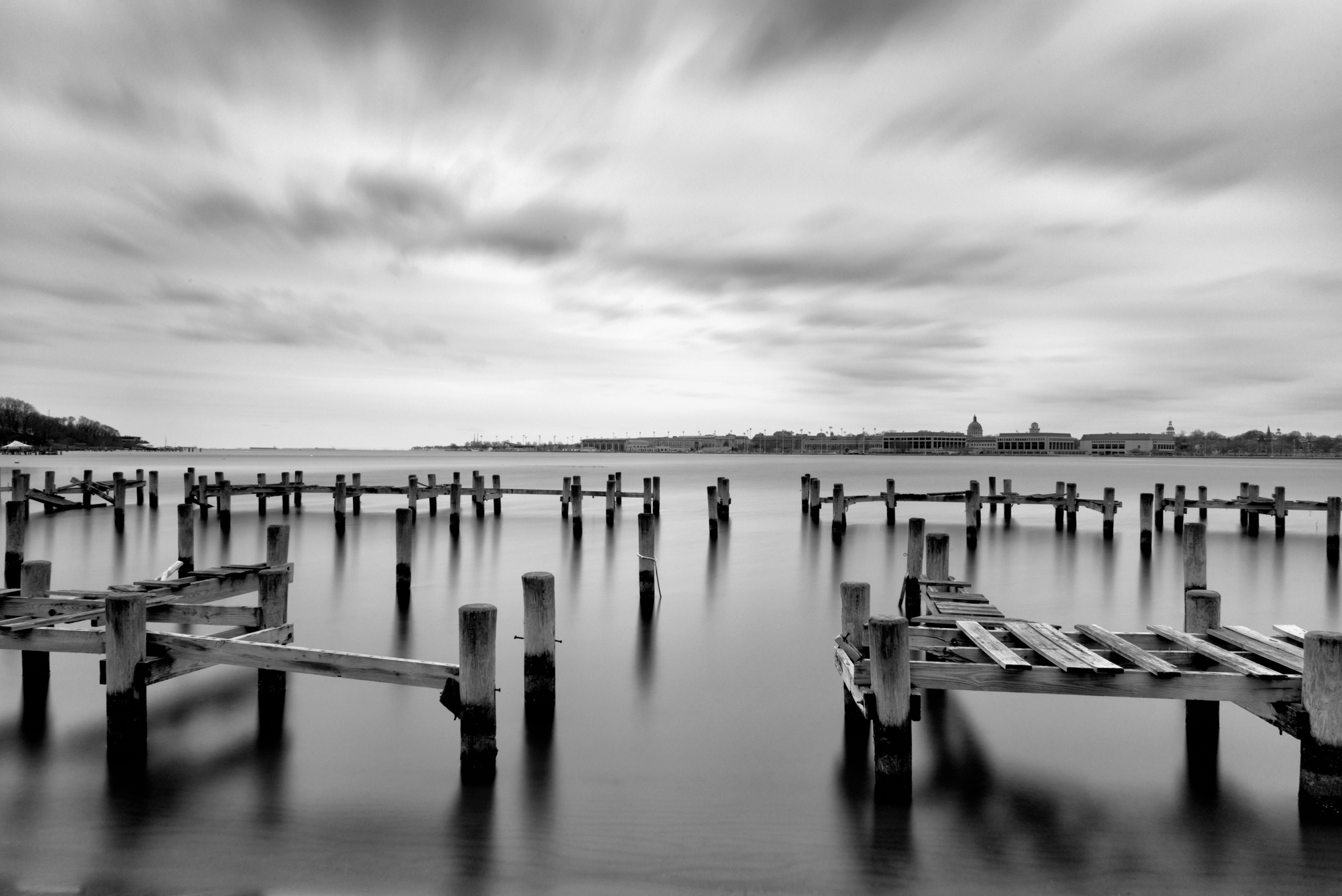 Severn River, March Morning, American Landscapes 2013