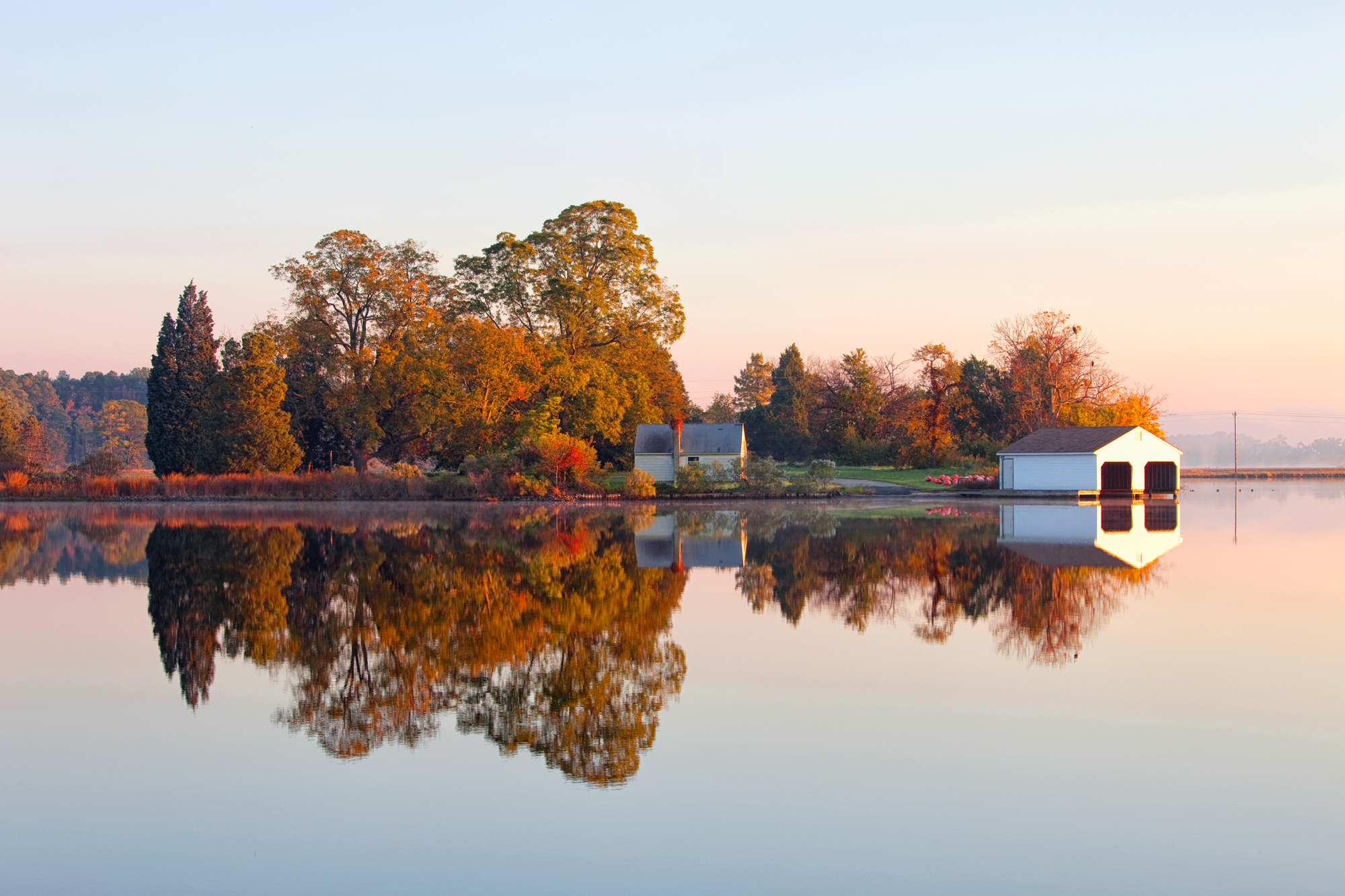 Dorchester County, October Morning, Water Works 2015