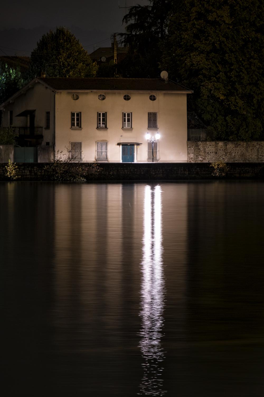 Vienne, France, October Evening