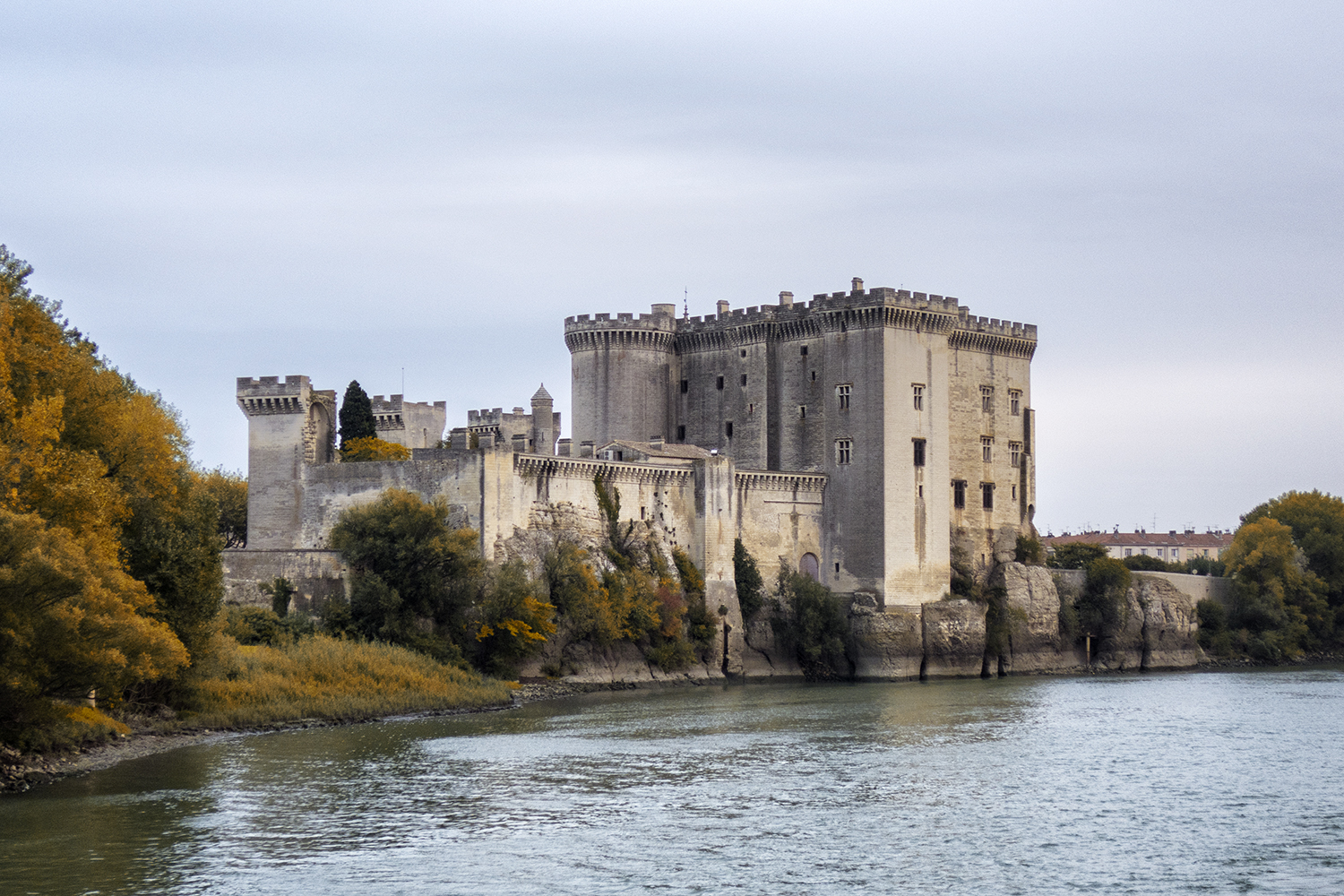 Along the Rhone River