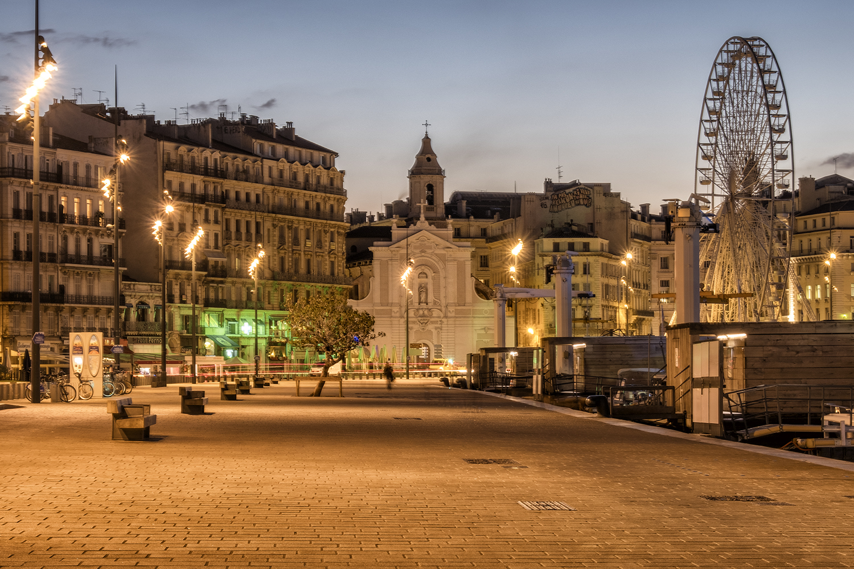 Marseille, October Morning