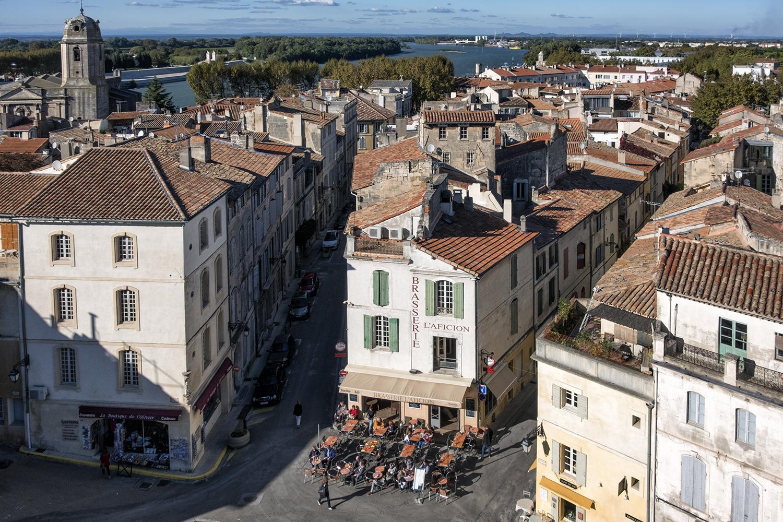 Arles, France, October Afternoon