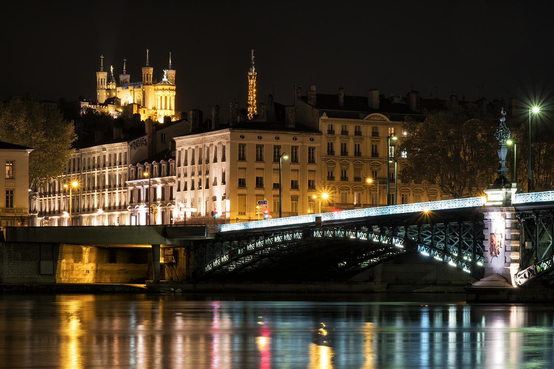 Lyon, October Evening